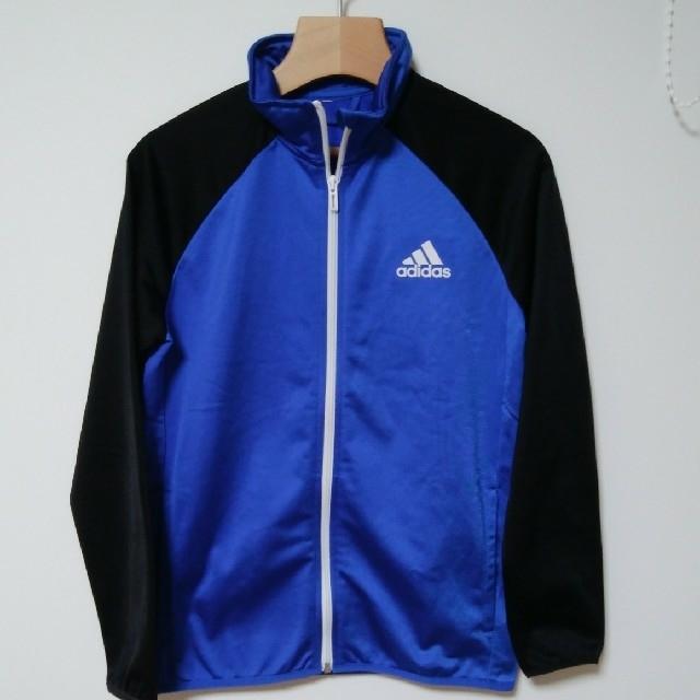 adidas(アディダス)のadidasジュニアジャージ上下セット スポーツ/アウトドアのサッカー/フットサル(ウェア)の商品写真