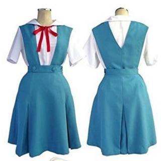 新品・未開封エヴァンゲリオン風 本格的コスプレ衣装  フルセット(衣装一式)