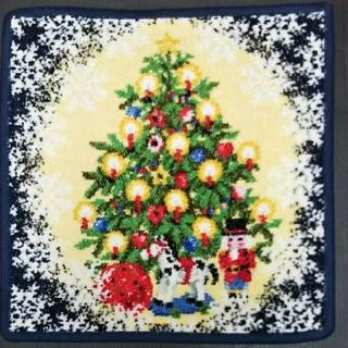 FEILER - フェイラーハンカチ クリスマス限定復刻 ブルー 新品未使用