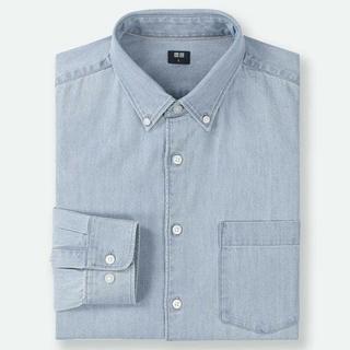ユニクロ(UNIQLO)の新品 ユニクロ デニムシャツ メンズM(シャツ)