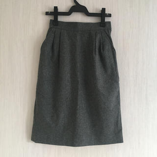 サンローラン(Saint Laurent)の美品 イヴサンローラン 膝丈スカート(ひざ丈スカート)