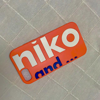 ニコアンド(niko and...)のiPhone niko and...シリコンケース(iPhoneケース)