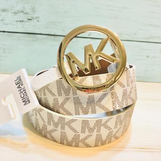 マイケルコース(Michael Kors)のプレゼント 誕生日 ハイブランド マイケルコース MK ロゴ  ベルト メンズ(ベルト)