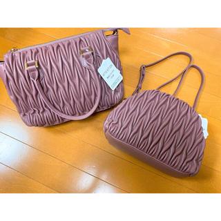 しまむら - しまむら  miumiu 風 ショルダー バッグ ピンク