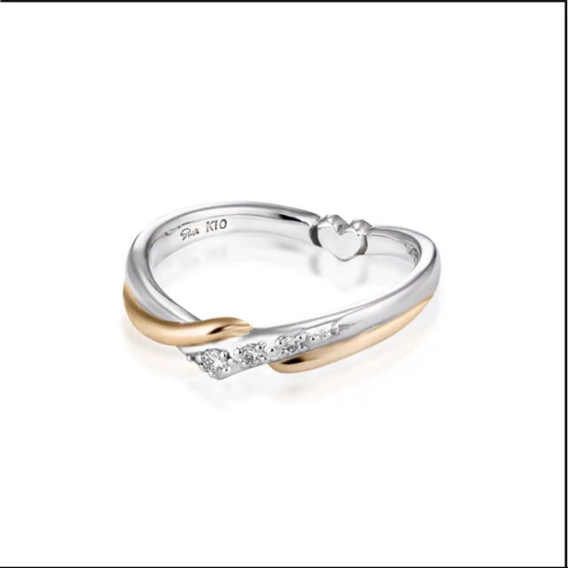 STAR JEWELRY(スタージュエリー)のスタージュエリー ピンキーリング 未使用 レディースのアクセサリー(リング(指輪))の商品写真