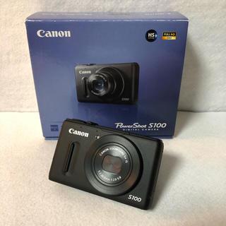 Canon - 【付属品完備】Canon デジタルカメラ PowerShot S100