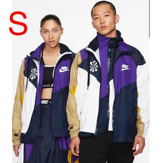 サカイ(sacai)のNike x Sacai Hooded Anorak 紫 新品!正規品!Sサイズ(ナイロンジャケット)