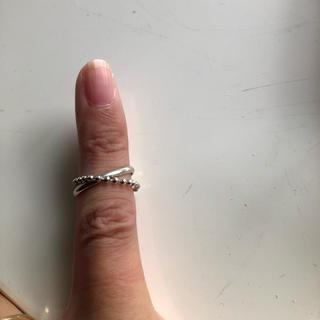 アキナ様専用💖ピンキーシルバーリング(リング(指輪))