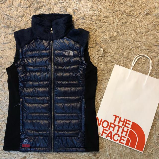 THE NORTH FACE(ザノースフェイス)のノースフェイス ダウン フリース ベスト サミットシリーズ 新品未使用 Mサイズ メンズのジャケット/アウター(ダウンベスト)の商品写真