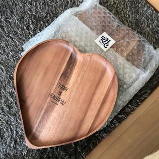 ロンハーマン(Ron Herman)のロンハーマン 木製プレート ペア2枚セット(食器)