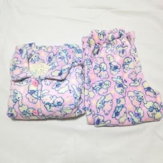 サンリオ - 100 サンリオ シナモンロール ふわもこパジャマ ピンク