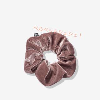 Victoria's Secret - ヴィクトリアシークレットPINKヘアゴムベルベット新品
