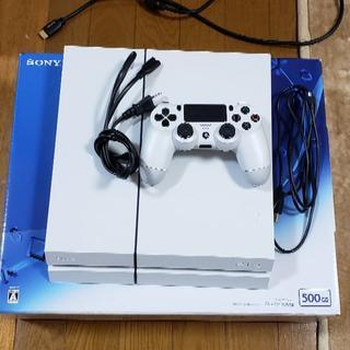SONY - 【PS4】CUH-1200A グレイシャーホワイト 500GB