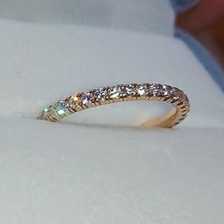 Cartier - カルティエ エタンセル フルエタニティ リング k18 ダイヤ ダイヤモンド