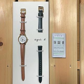 アニエスベー(agnes b.)の【電池切れの為更に値下げ】アニエスベー ♢ 腕時計(腕時計)