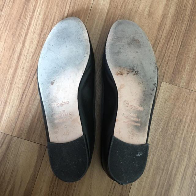 repetto(レペット)のrepetto レペット バレーシューズ V086VA 黒(Noir)40 レディースの靴/シューズ(バレエシューズ)の商品写真