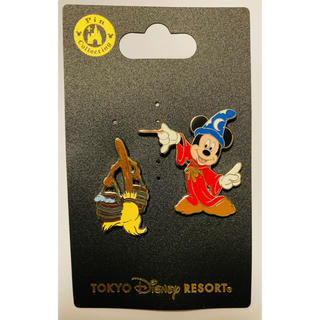 Disney - ディズニー ピンバッジセット ファンタジア ミッキー