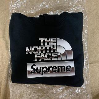 Supreme - Supreme Metallic Logo Hooded Sweatshirt