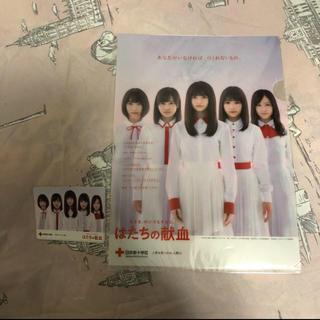 ノギザカフォーティーシックス(乃木坂46)の乃木坂46 クリアファイル カードケース(女性タレント)