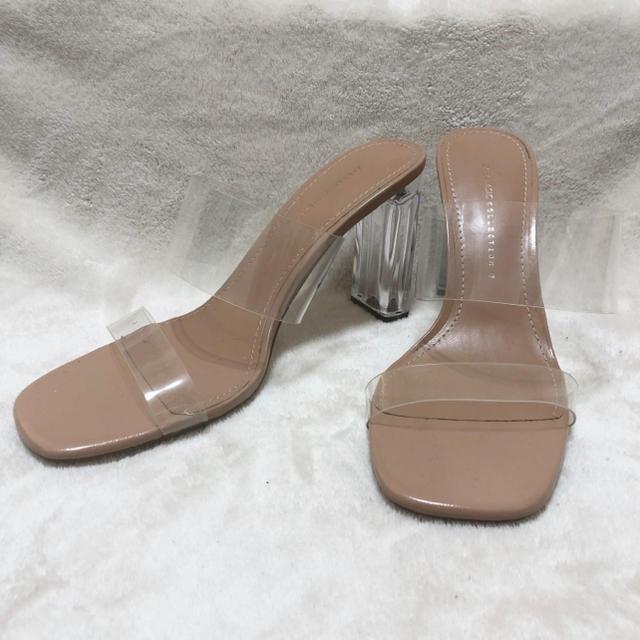ZARA(ザラ)のZARA クリアヒールサンダル レディースの靴/シューズ(サンダル)の商品写真