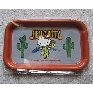 ハローキティ(ハローキティ)のHello Kitty(ハローキティ)・オリジナルブリキトレー(日用品/生活雑貨)