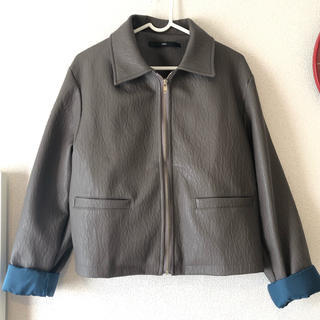 アメリヴィンテージ(Ameri VINTAGE)のレザー ジャケット スカート セットアップ(セット/コーデ)