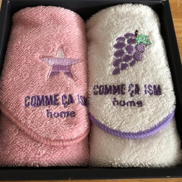 COMME CA ISM(コムサイズム)のコムサイズムプチタオルセット インテリア/住まい/日用品の日用品/生活雑貨/旅行(タオル/バス用品)の商品写真