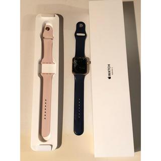 アップルウォッチ(Apple Watch)のJUNK Apple Watch 3 GPS/cellular 42mm (その他)