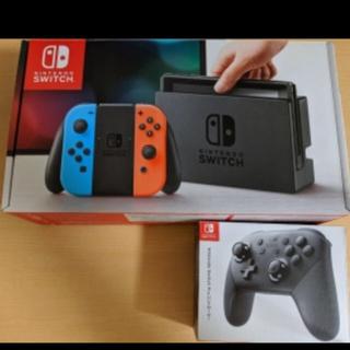 Nintendo Switch - 任天堂スイッチ 本体・プロコントローラーセット