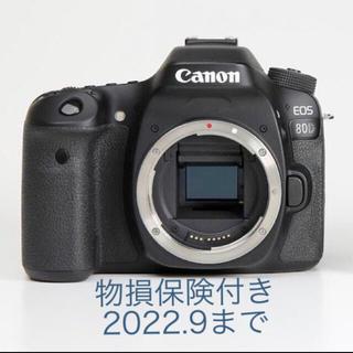 Canon - セール!物損保険付き*canon 80D 一眼レフ*保証期間2022.9まで