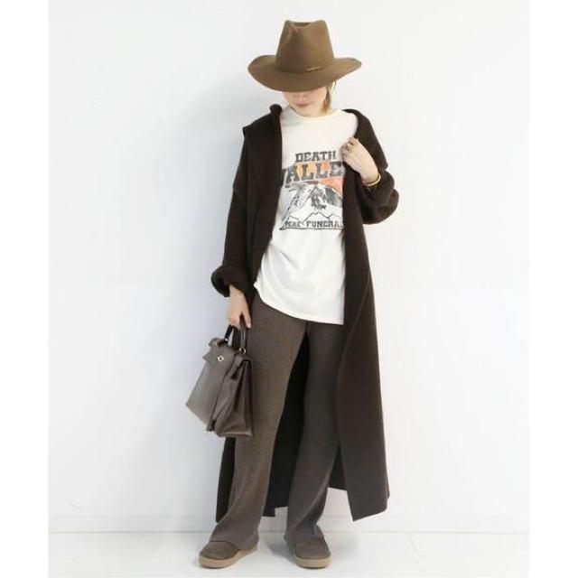 DEUXIEME CLASSE(ドゥーズィエムクラス)の新品 ADAWAS KNIT GAWN レディースのジャケット/アウター(ニットコート)の商品写真