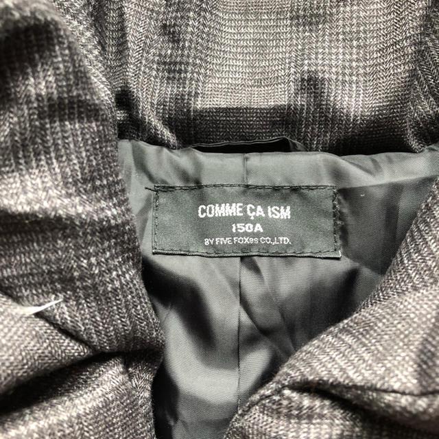 COMME CA ISM(コムサイズム)の美品 コムサイズム  ジャンパーコート 150cm キッズ/ベビー/マタニティのキッズ服 女の子用(90cm~)(ジャケット/上着)の商品写真