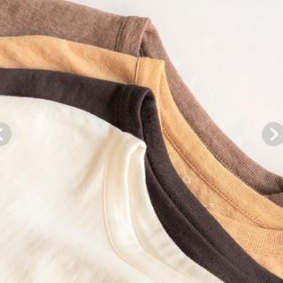 シールームリン(SeaRoomlynn)のSeaRomLynn ☆新品☆ ホワイト コットン2FACEクルーロンT(Tシャツ(長袖/七分))
