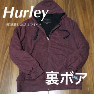 Hurley - Hurley ハーレー  裏地ボアパーカー 美品です。