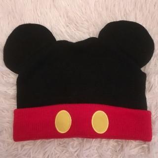 Disney - ディズニーランド限定 ミッキーマウスニット帽