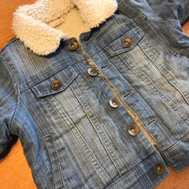 petit main(プティマイン)のpetit main プティマイン Gジャン80 デニム キッズ/ベビー/マタニティのベビー服(~85cm)(ジャケット/コート)の商品写真