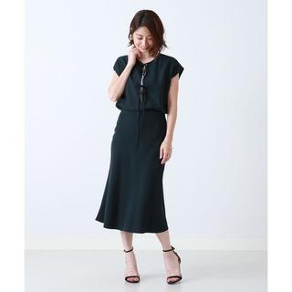 Demi-Luxe BEAMS - '18aw新品同様★デミルクスビームス★バイアス フレアスカート36