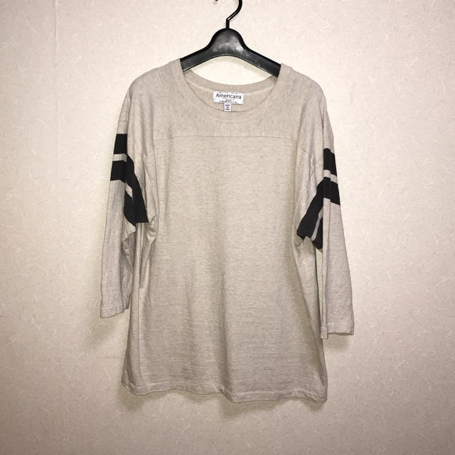 DEUXIEME CLASSE(ドゥーズィエムクラス)のDeuxime Classe購入AMERICANA  FOOT BALLTシャツ レディースのトップス(Tシャツ(長袖/七分))の商品写真