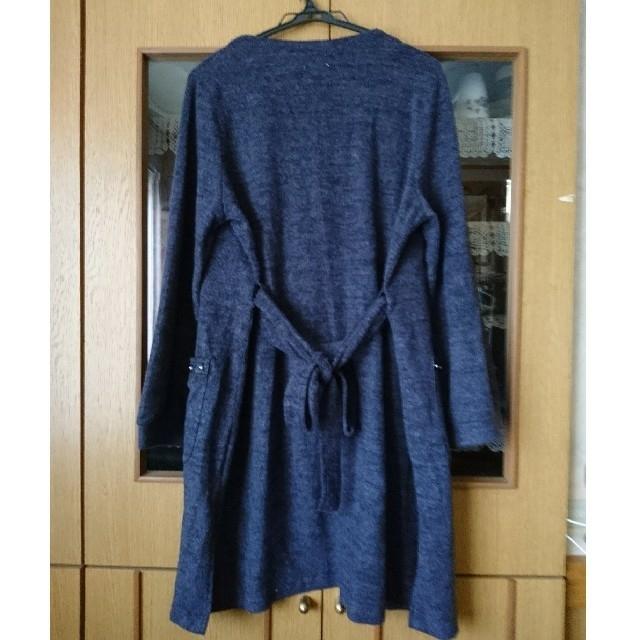 axes femme(アクシーズファム)の新品アクシーズファム ドロップショルダーカーディガン コート axesfemme レディースのジャケット/アウター(ロングコート)の商品写真