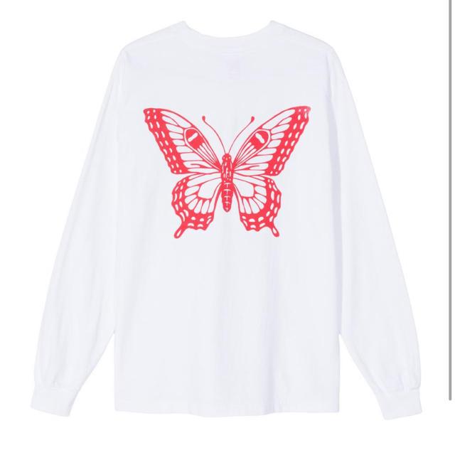 GDC(ジーディーシー)のGirls Don't Cry Butterfly L/S T-shirt XL メンズのトップス(Tシャツ/カットソー(七分/長袖))の商品写真