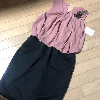 ビームス(BEAMS)のBEAMSLIGHTS 新品未使用 ドレス 美品 タグ付き(ひざ丈ワンピース)