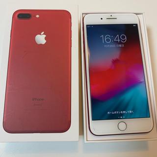 Apple - アイフォン7プラス レッド 128gb