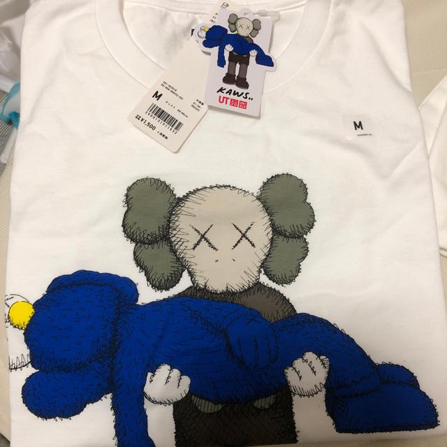 UNIQLO(ユニクロ)のユニクロ カウズ M メンズのトップス(Tシャツ/カットソー(半袖/袖なし))の商品写真