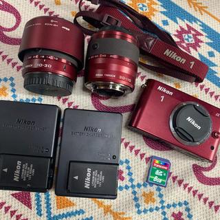 Nikon - Nikon 1 J1 ミラーレス一眼カメラ 美品