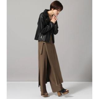 ジーナシス(JEANASIS)の試着のみ!ジーナシス ラップスカート+パンツ(カジュアルパンツ)
