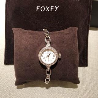 フォクシー(FOXEY)のお値下げ!フォクシー 新品未使用ブレスレットウォッチ 腕時計(腕時計)