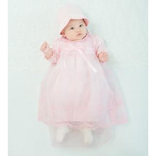 Nishiki Baby - ベビードレス ピンク 3点セット