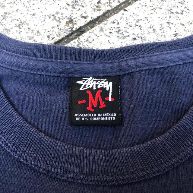 STUSSY(ステューシー)のステューシー 長袖tシャツ  骸骨 ガイコツ メンズのトップス(Tシャツ/カットソー(七分/長袖))の商品写真
