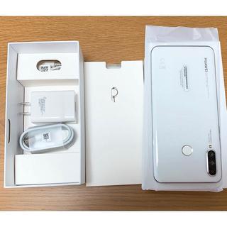 au -  SIMフリー HUAWEI P30 lite premium 128GB 白