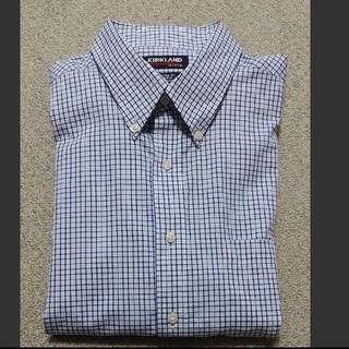 コストコ(コストコ)のカークランド ワイシャツ チェックシャツ(シャツ)